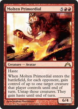 Molten Primordial - Foil
