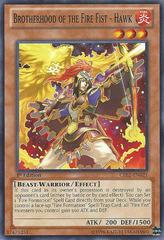 Brotherhood of the Fire Fist - Hawk - CBLZ-EN021 - Common - 1st Edition