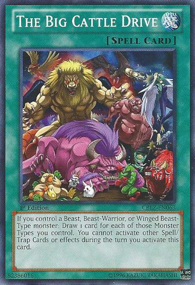 Yugioh Unlimited Edition Near Mint CBLZ-EN017 Heraldic Beast Leo En Rare