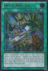 Quick Booster - CBLZ-EN065 - Ultimate Rare - 1st Edition