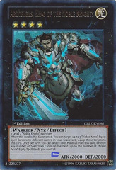 Artorigus, King of the Noble Knights - CBLZ-EN086 - Ultra Rare