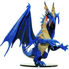 Pathfinder Battles Miniatures GARGANTUAN Blue Dragon Shattered Star promo