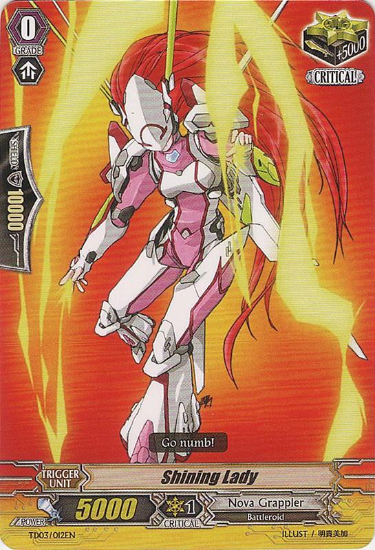 Shining Lady - TD03/012EN - TD