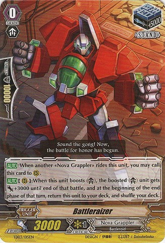 Battleraizer - TD03/015EN