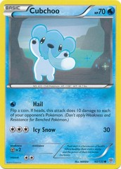 Cubchoo - 40/135 - Common on Channel Fireball
