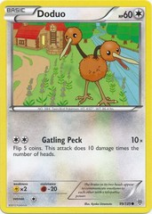 Doduo - 99/135 - Common on Channel Fireball