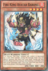 Fire King Avatar Barong - SDOK-EN002 - Common - 1st Edition on Channel Fireball