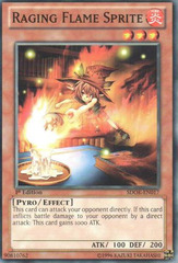 Raging Flame Sprite - SDOK-EN017 - Common - 1st Edition