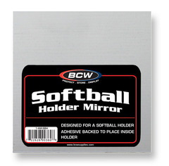 Adhesive Mirror - Softball Holder