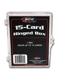 BCW Hinged Box 15 Count
