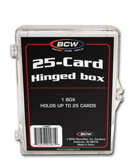 Hinged Box - 25 Count