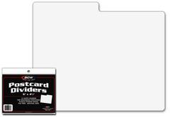 Postcard Dividers - Pack of 10