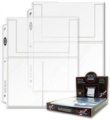 Pro 3-Pocket Pages - Box of 100