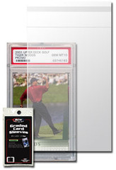 BCW Resealable Graded Card Sleeves - 3 3/4 X 5 1/2 - Pack of 100