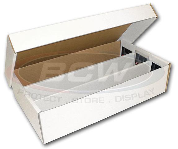 BCW Super Shoe Box (3000 Ct.) 3-Row