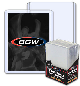 BCW 3 X 4 Topload Card Holder - Premium - Pack of 25
