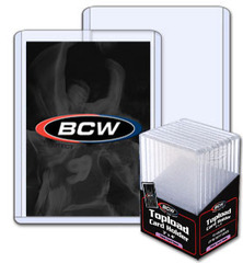 BCW 3 X 4 X 5 mm - Super Thick Card Topload Holder 197 Pt - Pack of 10