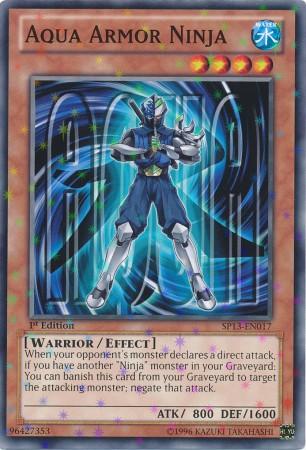 Aqua Armor Ninja - SP13-EN017 - Starfoil Rare - Unlimited Edition