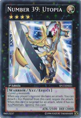 Number 39: Utopia - SP13-EN021 - Starfoil Rare - Unlimited Edition