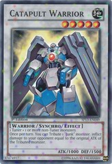 Catapult Warrior - SP13-EN049 - Starfoil Rare - 1st Edition