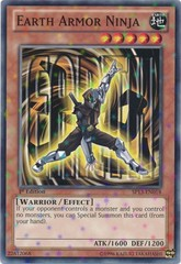 Earth Armor Ninja - SP13-EN018 - Starfoil Rare - 1st Edition