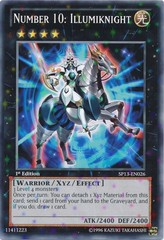 Number 10: Illumiknight - SP13-EN026 - Starfoil Rare - 1st Edition