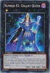 Number 83: Galaxy Queen - SP13-EN028 - Starfoil Rare - 1st Edition