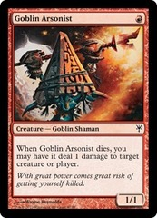 Goblin Arsonist on Channel Fireball