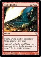 Flame Javelin on Channel Fireball