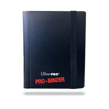 Ultra Pro 2-Pocket Black PRO-Binder