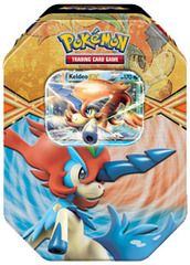 Pokemon 2013 Keldeo EX Spring Tin