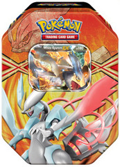 Pokemon 2013 White Kyurem EX Spring Tin