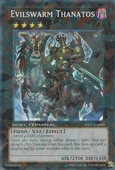 Evilswarm Thanatos - DT07-EN090 - Super Parallel Rare - Duel Terminal on Channel Fireball