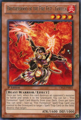Brotherhood of the Fire Fist - Gorilla - CBLZ-EN023 - Rare - Unlimited Edition
