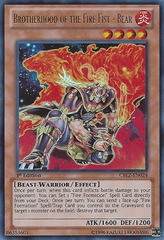 Brotherhood of the Fire Fist - Bear - CBLZ-EN024 - Ultra Rare - Unlimited Edition