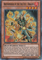 Brotherhood of the Fire Fist - Dragon - CBLZ-EN025 - Super Rare - Unlimited Edition on Channel Fireball