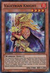 Valkyrian Knight - CBLZ-EN039 - Super Rare - Unlimited Edition
