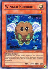 Winged Kuriboh - TLM-EN005 - Super Rare - 1st Edition