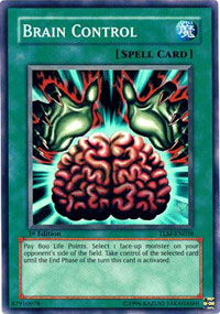 Brain Control - TLM-EN038 - Super Rare - 1st Edition