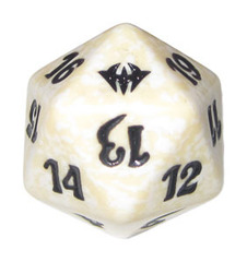 Magic Spindown Die - Dark Ascension White