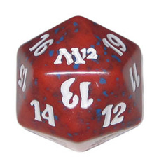 Magic Spindown Die - M12 Magic 2012 Red