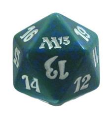 Magic Spindown Die - M13 Magic 2013 Green