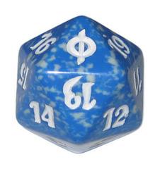 Magic Spindown Die - New Phyrexia Blue