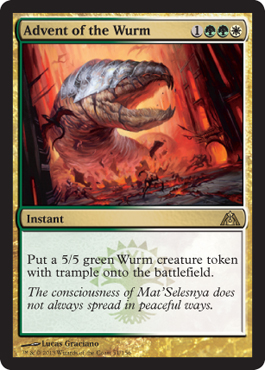 Advent of the Wurm - Foil