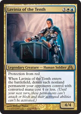 Lavinia of the Tenth - Foil