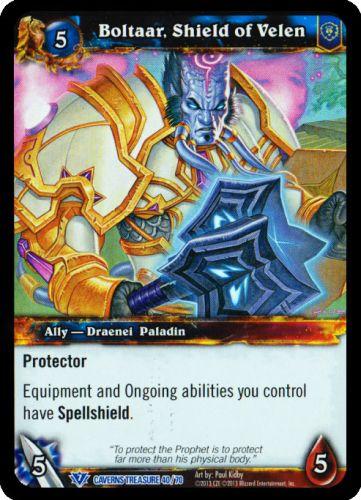 Boltaar, Shield of Velen