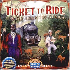Ticket to Ride Map Collection: Volume 3 - The Heart of Africa (In-Store Sales Only)