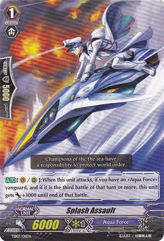 Splash Assault - TD07/011EN - TD