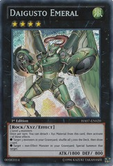 Daigusto Emeral - HA07-EN020 - Secret Rare - 1st Edition
