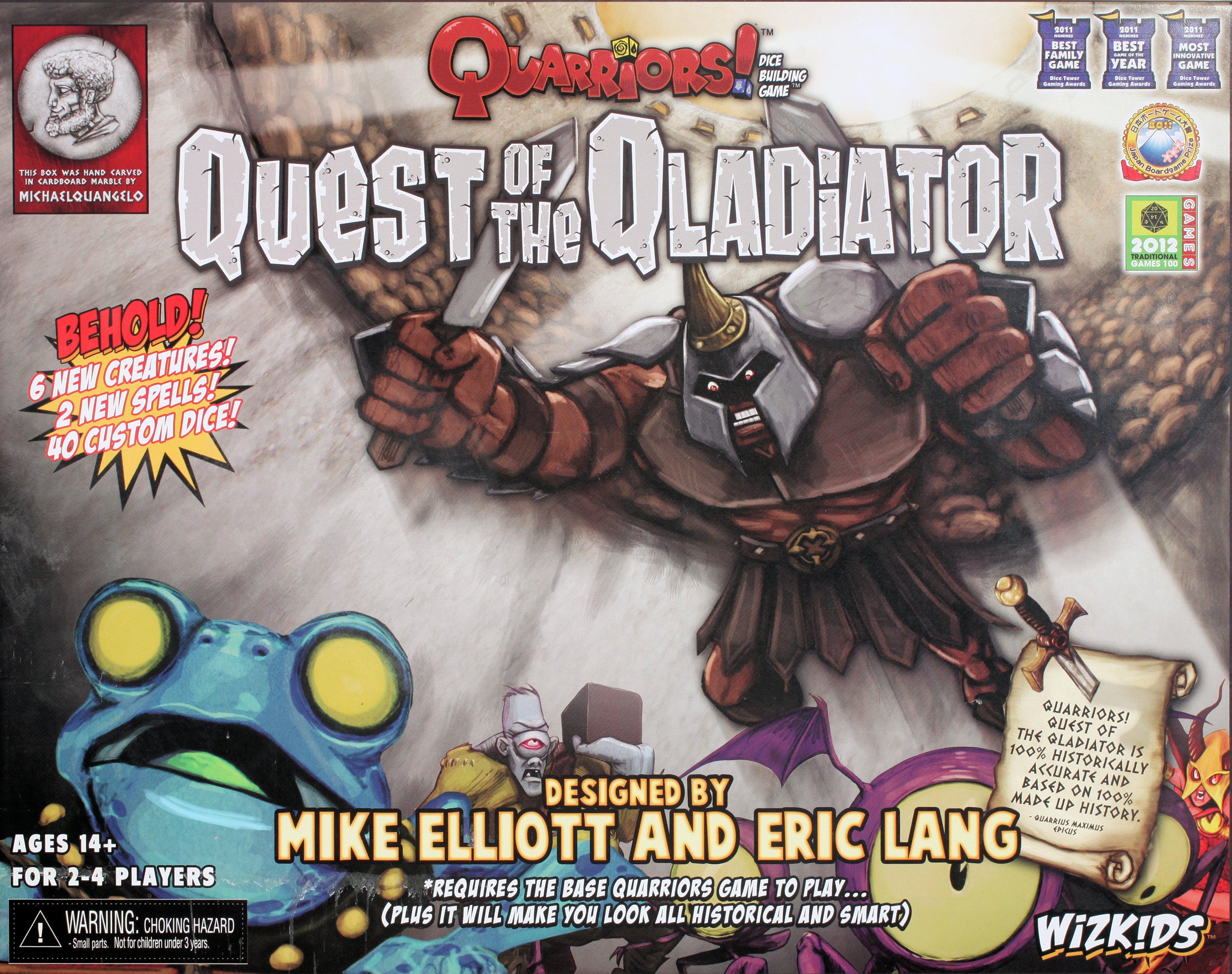 Quarriors! Quest of the Qladiator